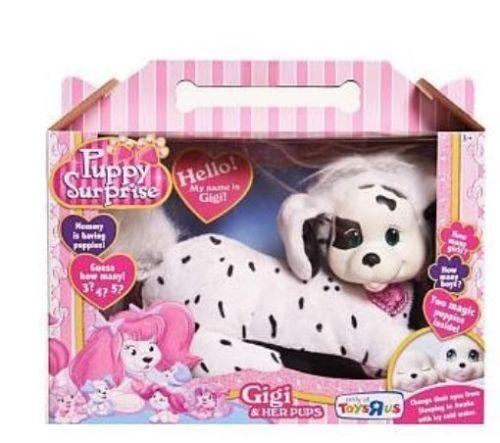 Puppy Surprise Gigi Plush Dalmatian Nuovo NIB Retirosso Exclusive Toys R Us