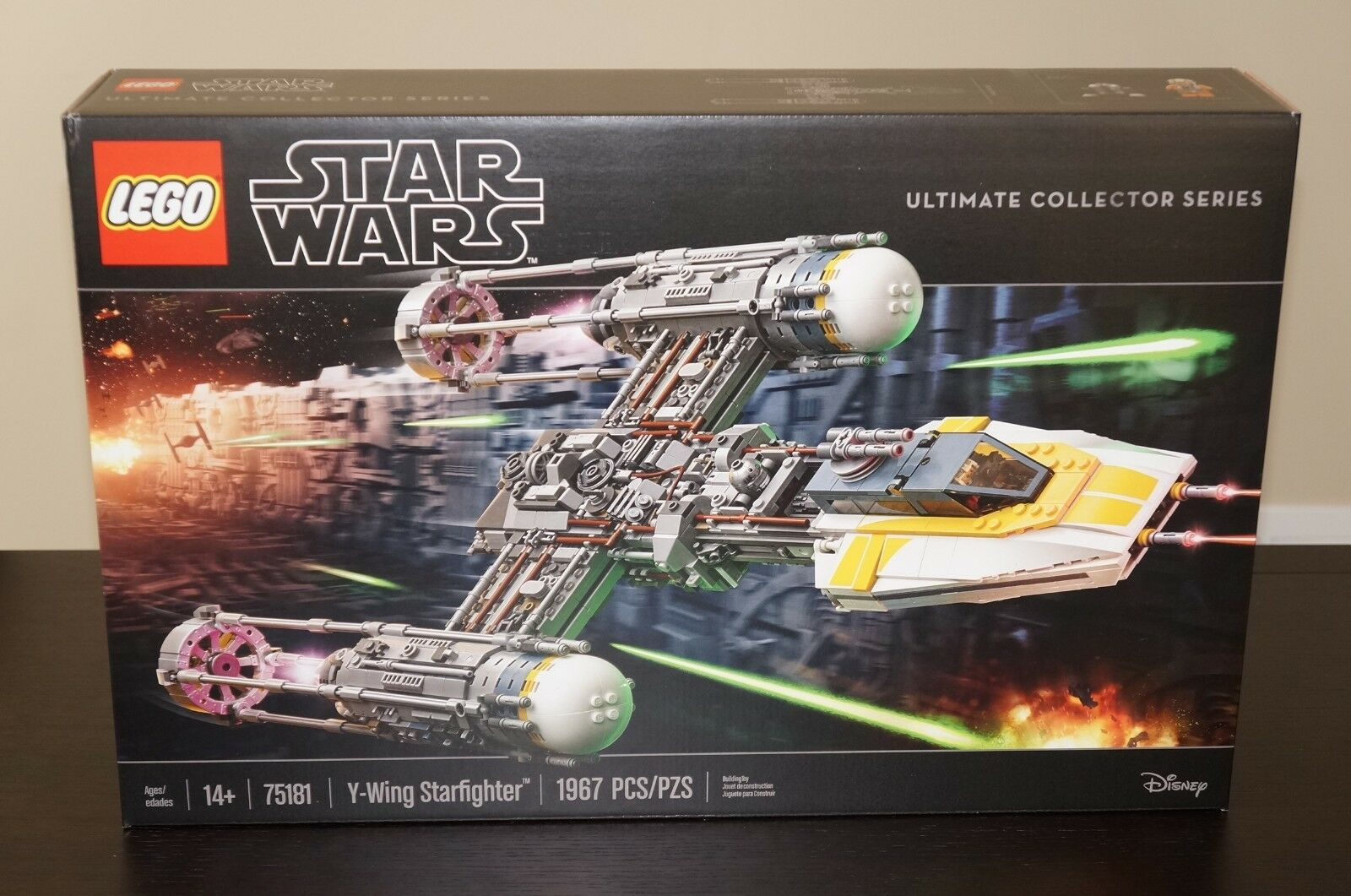 Lego Star Wars Y-Wing UCS 75181   NEW IN BOX   SEALED    FAST SHIPPING