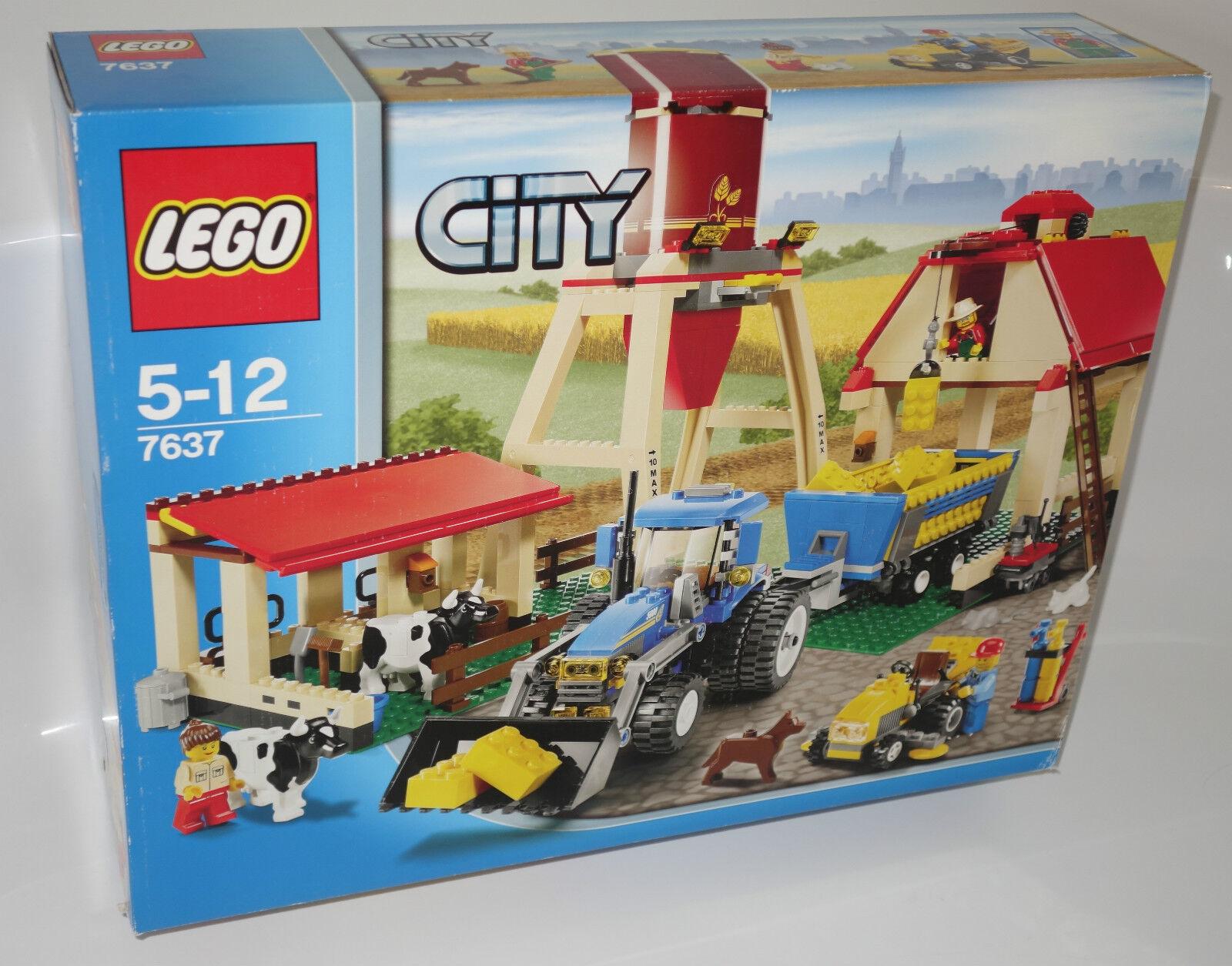 LEGO ® City 7637 Fattoria Fattoria Fattoria NUOVO OVP _ LARGE FARM NEW MISB NRFB bb6e69