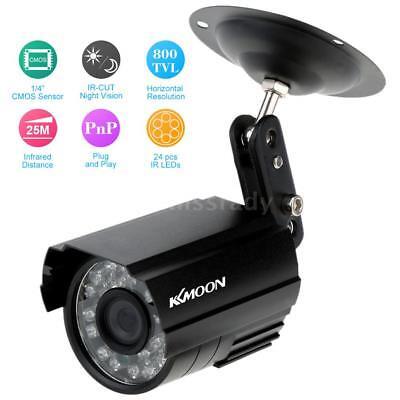 KKmoon 800TVL HD CCTV Kamera Überwachungskamera Wasserdichte Kamera DHL X5H4