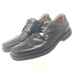b14bbde8 ECCO Men's Oxford Dress Shoes Size EU 45 US 11 - 11.5 Leather Black ...