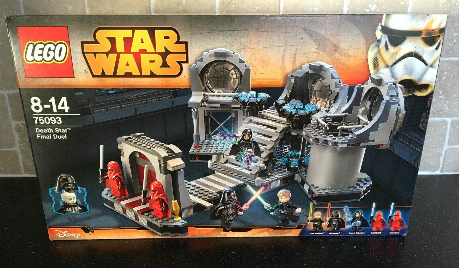 LEGO LEGO LEGO STAR WARS - 75093 Death Star Final Duel Brand New In Sealed Box e67692