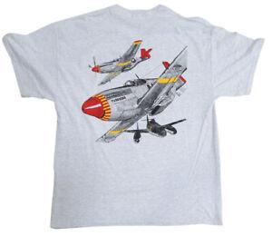 TUSKEGEE AIRMEN T-SHIRT USA AIR FORCE T-SHIRT RED TAILS AIR FORCE T-SHIRT