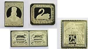 100-Greatest-Stamps-Collection-925-Silver-Bar-Replicas-Australasia-Postage-Stamp