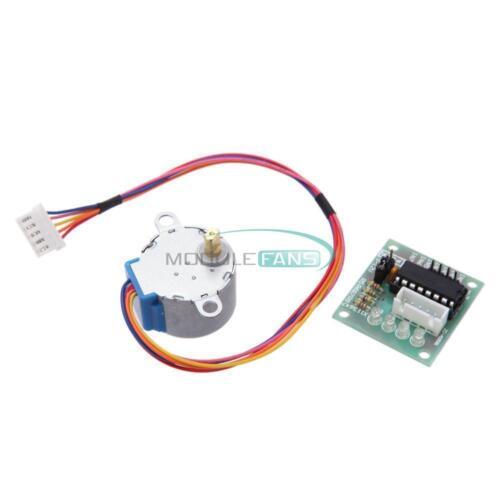 5PCS 5V Stepper Motor 28BYJ-48 Drive Test Module Board ULN2003 5 Line 4 Phase