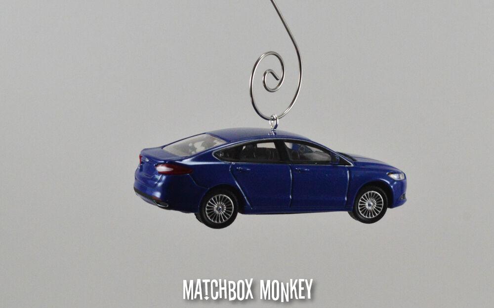 '13'14 Ford Fusion Fusion Fusion titanio personalizado 1 64 Adorno De Navidad Impacto Profundo Azul'15 c748e9