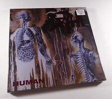 DEATH Human 2xLP BOX SET MERGE SPLATTER VINYL /500 *SEALED* morbid angel carcass