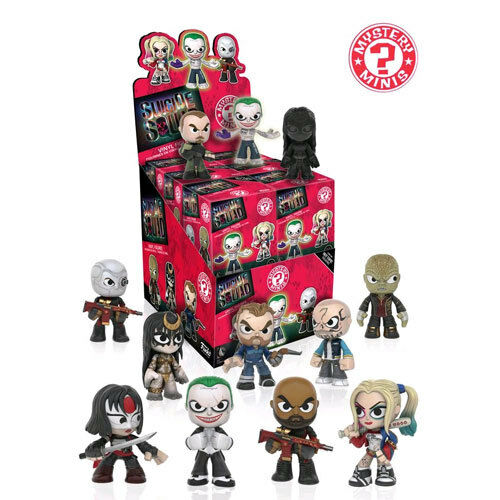 Suicide Squad - Mystery Minis Hot Topic US Exclusive Blind Box - Set of 12 Funko
