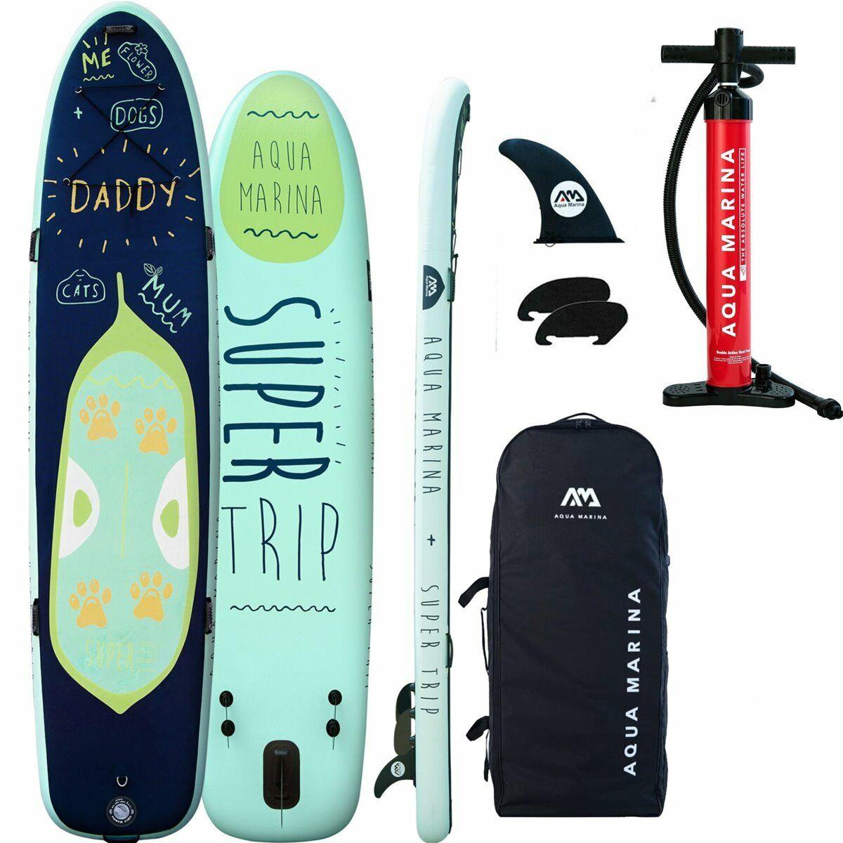 Aqua Marina Sup Eccellente Viaggio Ste Up Paddle Tavola Mega Surf modellolo 2019