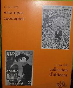 1970 Catálogo De Venta Demuestra Drouot Impresión Moderno