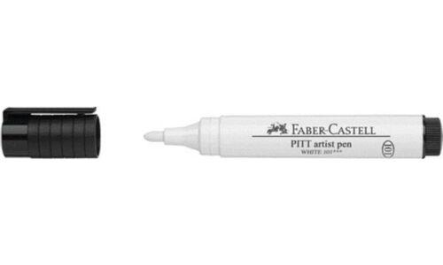 weiß FABER-CASTELL Tuschestift PITT artist pen