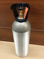 Aluminum Co2 Tank W/ Cga-320 Valve, 20lb (cylinder For Beverage & Welding)