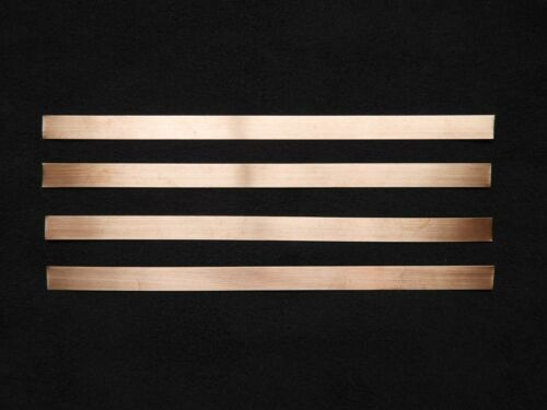 packs of 150mm lengths Copper Strip Tape 0.3mm thick x 4.5mm or 8.5mm wide
