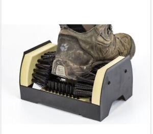 Outdoor Door Step Boot Scraper Brush Cleaner Mat Removes Mud Dirt Shoes & Wellys