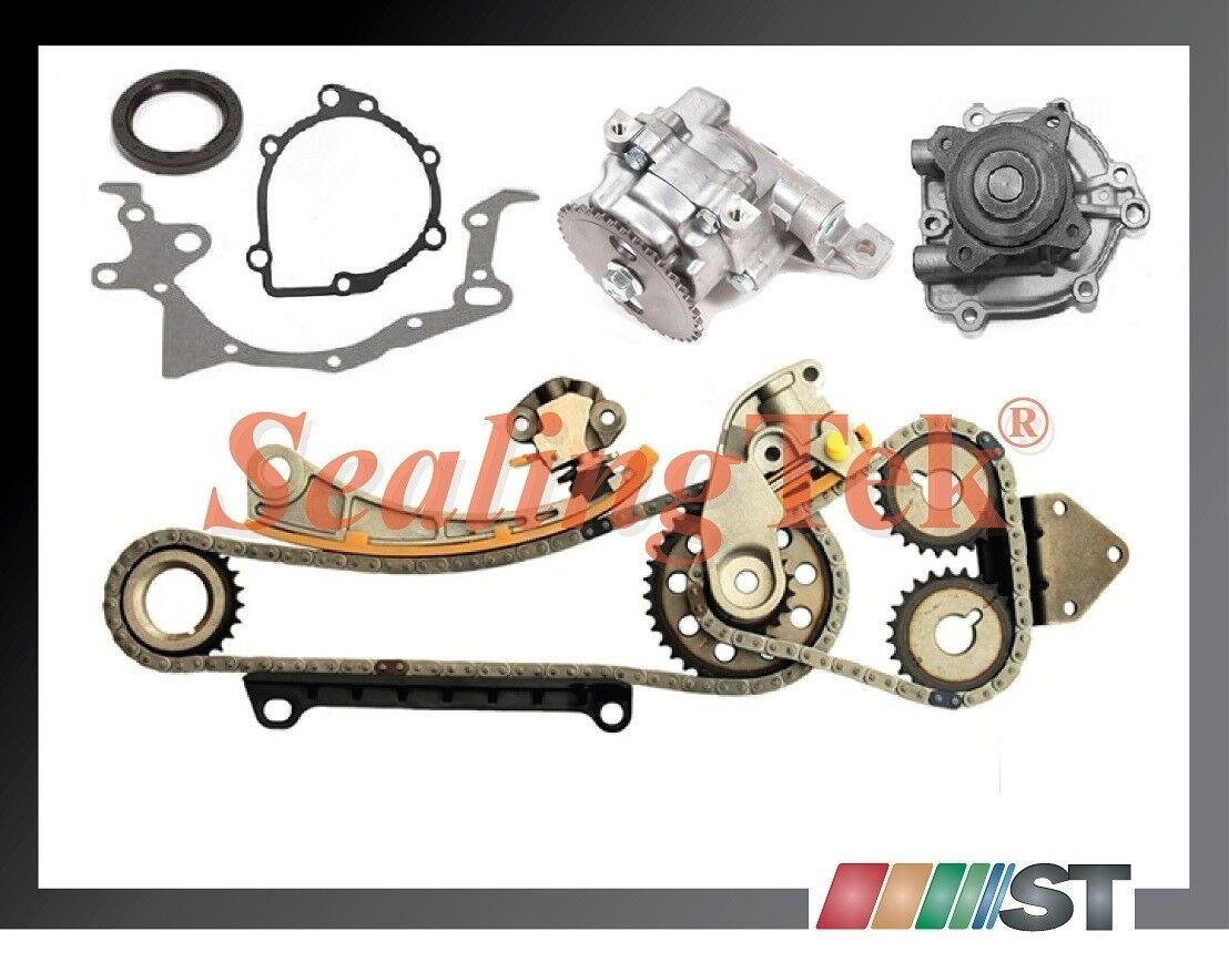Fits for Chevrolet Tracker Suzuki Esteem Sidekick Aerio Vitara Replacement Timing Chain Kit 1.8L 2.0 L J18A J20A with Gears