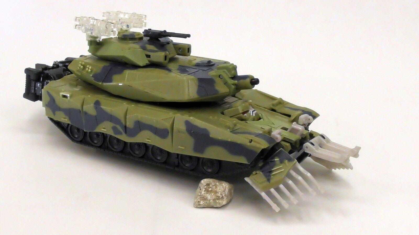 TRANSFORMERS MOVIE Leader Class DECEPTICON BRAWL Tank Action Figure 2007