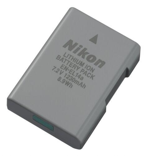 Batteria Nikon EN-EL14a ORIGINALE D3200 D3400 D5300 D5600 coolpix P7100 P7800