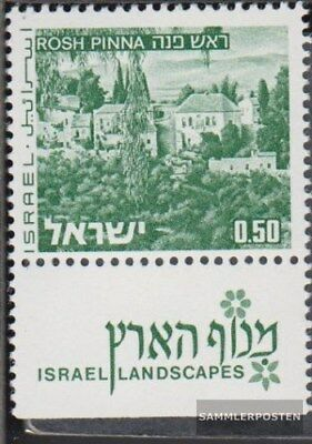 Never Hinged 1971 Landscapes Elegant In Style Modest Israel 531y I With Tab Unmounted Mint Nature & Plants