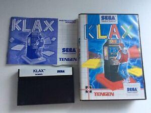 Sega Master System Klax