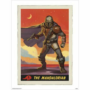 Star-Wars-The-Mandalorian-Collectors-Card-POSTER-60x80cm-NEW-art-print