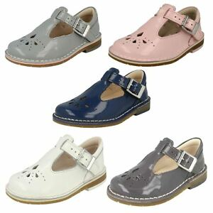 Clarks First hilo Azul de Niñas Shoes tejido Casual Smart ZTnUqF