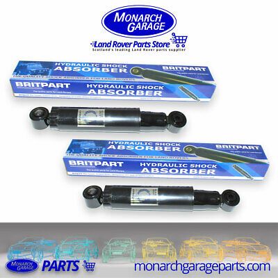 2X REAR SHOCK ABSORBERS LAND ROVER DEFENDER DISCOVERY RANGE ROVER 2.5 1970-2016