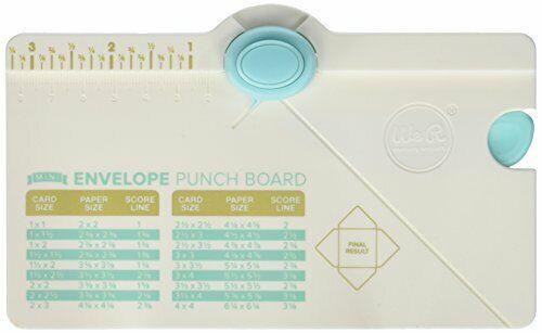 We R Memory Keepers Mini Envelope Punch Board