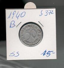 50 Reichspfennig 1940 B   . ab 5 auktionen portofrei