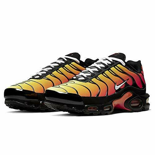 air max plus orange and black outfits