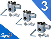 Bpv-31 (3 Pack) Supco Bullet Piercing Valve Bpv31 Fits 1/4, 5/16, 3/8 Tubing