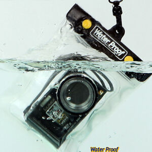 CARCASA Submarina Funda impermeable para Canon PowerShot ELPH 135//180//190//300//350