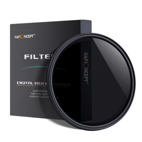 K/&F concepto 49mm ND8 Filtro densidad neutra para Canon Nikon Sony Olympus