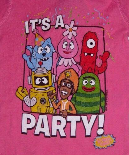 "/""It/'s A Party/"" One Piece Jumper Romper Baby Snap Suit Yo Gabba Gabba"