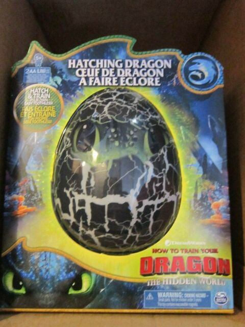 NEW!  How To Train Your Dragon ~ Baby Toothless ~ Black Dragon ~ Hatching Egg