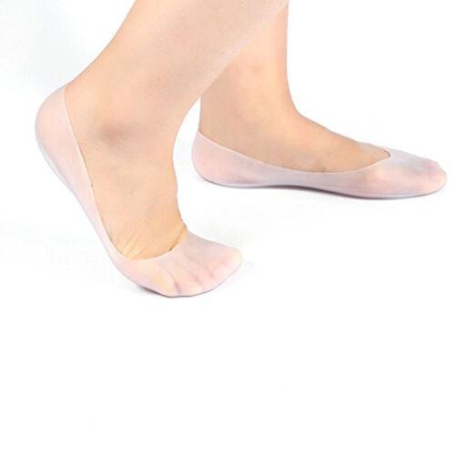 Silicone Gel Moisturizing Socks 1PAIR Dry Cracked Foot Skin Yoga Pads PEDIMEND™