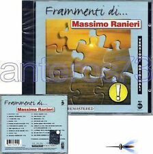 """MASSIMO RANIERI """"FRAMMENTI DI"""" RARO CD 1997 - SIGILLATO"""