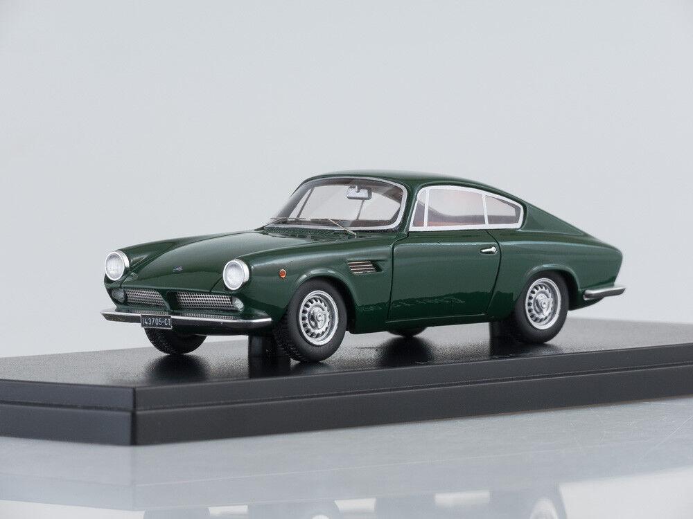 1 43 Scale model ASA 1000 GT, dunkelgreen, dunkelgreen, dunkelgreen, 1962 8059f1