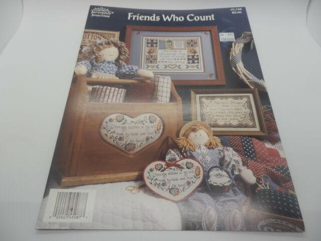 You Choose Jeremiah Junction Cross Stitch Patterns Leaflet Books