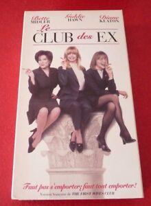 VHS-Movie-Le-Club-des-Ex-Version-Francaise-Bette-Midler-Goldie-Hawn