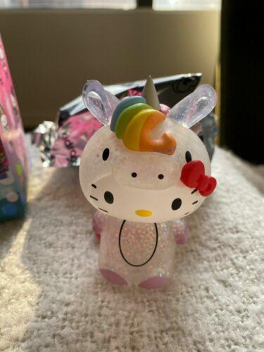 """Kidrobot x Hello Kitty Time to Shine 3/"""" Vinyl Figure Unicorn Chase"""