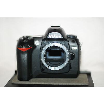 MINT Nikon D70 6MP Digital SLR Body IR 690nm Infrared + Warranty