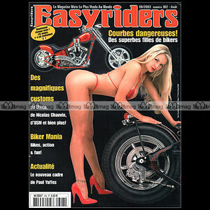 EASYRIDERS-N-362-HARLEY-CUSTOM-BIKE-amp-CHOPPER-PAUL-YAFFE-NICOLAS-CHAUVIN-2003