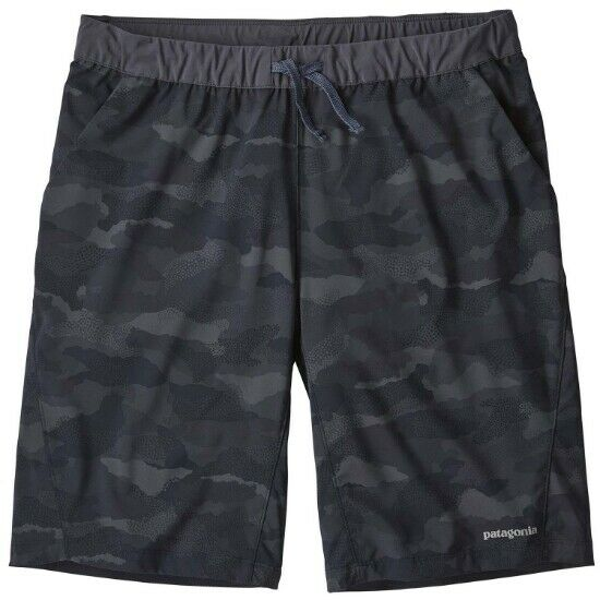 Patagonia Terrebonne Shorts Myrtle Bark Camo   Classic Navy 24690 MBCL