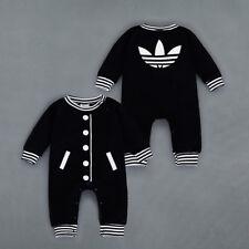 f84f6328296 2018 Baby Kids Boy Girl Infant Romper Jumpsuit Bodysuit Cotton Clothes  Outfit