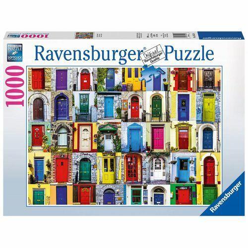 Porte del Mondo Ravensburger RVB19524 Puzzle da 1000 Pezzi