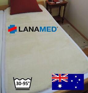 LANAMED-L-150-x-75-cm-Schurwoll-Komfort-Matratzenauflage-30-95-C-waschbar