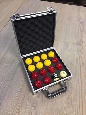 Plastic Pool Billiard Ball Stand Tray Holder 16 Balls Storage Tray Pool Tool New