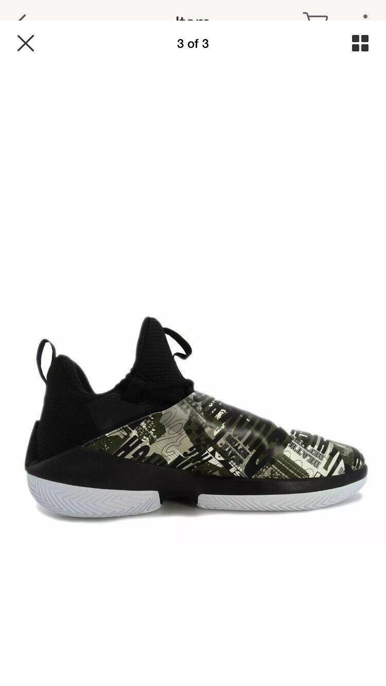 990324c5d216 Nike Jordan Jumpman Jumpman Jumpman Hustle PF Black Infrared 23 Olive Mens  Sz 9 NWT AQ0397