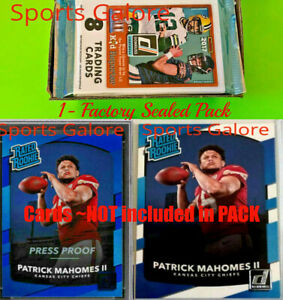 2017-Panini-Donruss-Football-1-Pack-From-Factory-Sealed-Box-1-4-Mahomes-per-36P