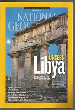 National Geographic February 2013 Lybia/Venom/African Soccer/Britain's Otters